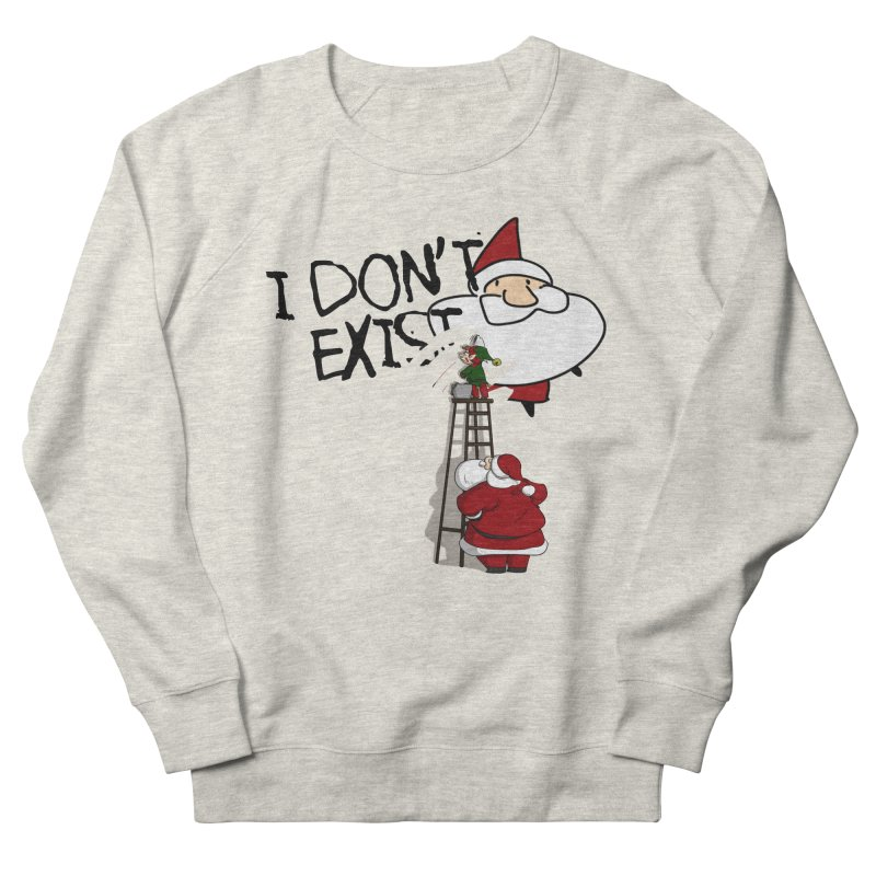 Exist or Not Exist Women's French Terry Sweatshirt by roby's Artist Shop