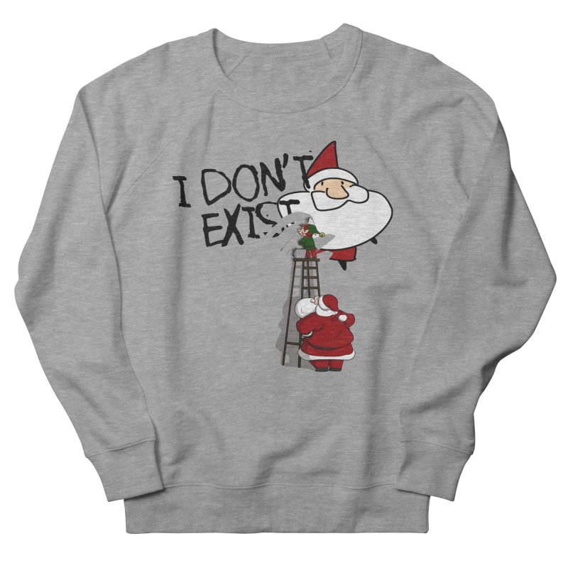 Exist or Not Exist Men's French Terry Sweatshirt by roby's Artist Shop
