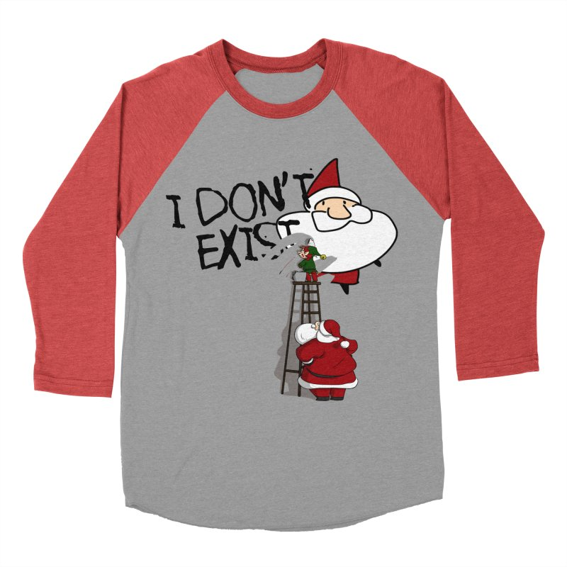 Exist or Not Exist Women's Baseball Triblend Longsleeve T-Shirt by roby's Artist Shop