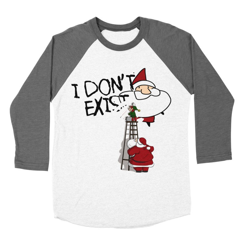 Exist or Not Exist Men's Baseball Triblend Longsleeve T-Shirt by roby's Artist Shop