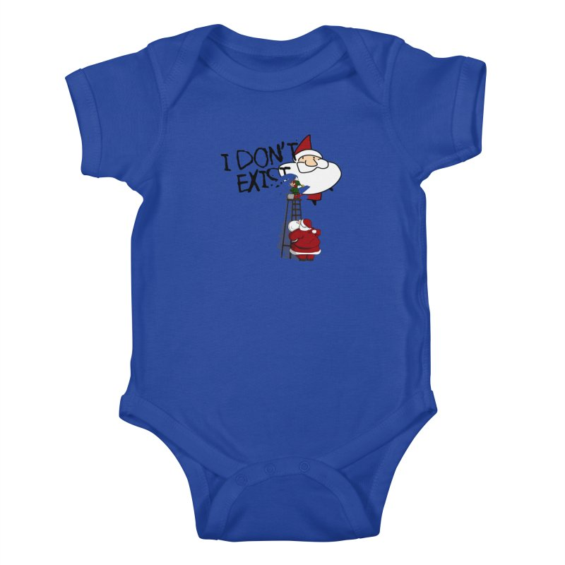 Exist or Not Exist Kids Baby Bodysuit by roby's Artist Shop