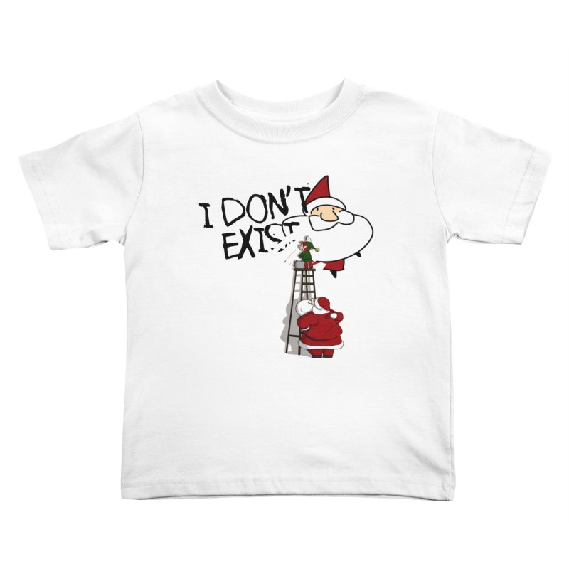 Exist or Not Exist Kids Toddler T-Shirt by roby's Artist Shop