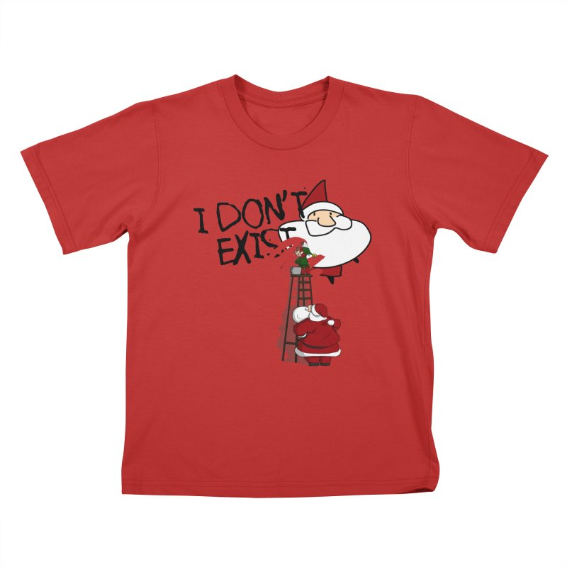 Exist or Not Exist Kids T-Shirt by roby's Artist Shop