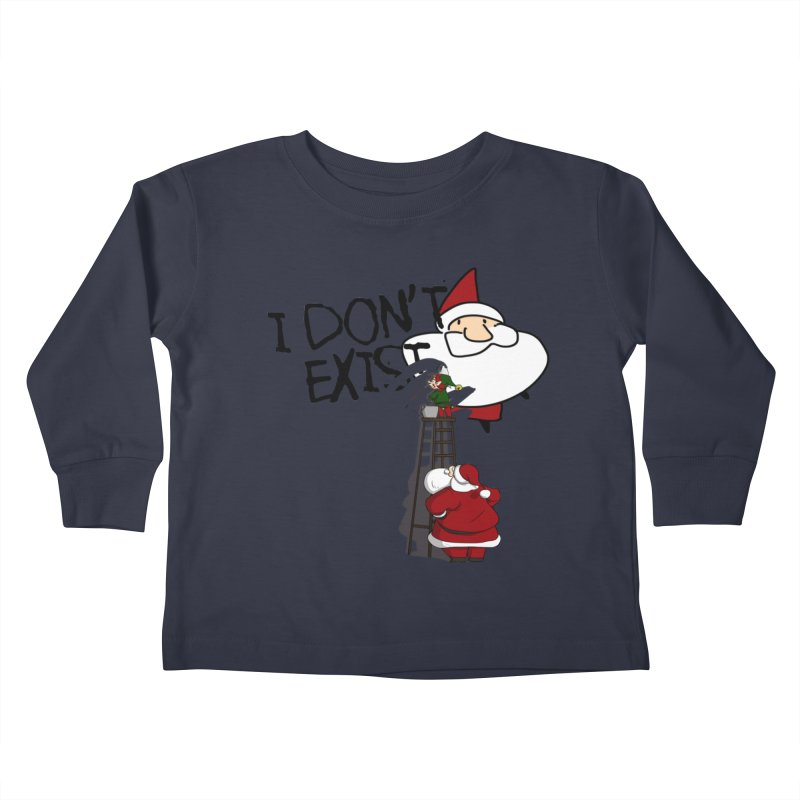 Exist or Not Exist Kids Toddler Longsleeve T-Shirt by roby's Artist Shop