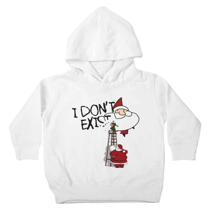Exist or Not Exist Kids Toddler Pullover Hoody by roby's Artist Shop