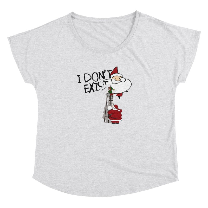 Exist or Not Exist Women's Dolman Scoop Neck by roby's Artist Shop