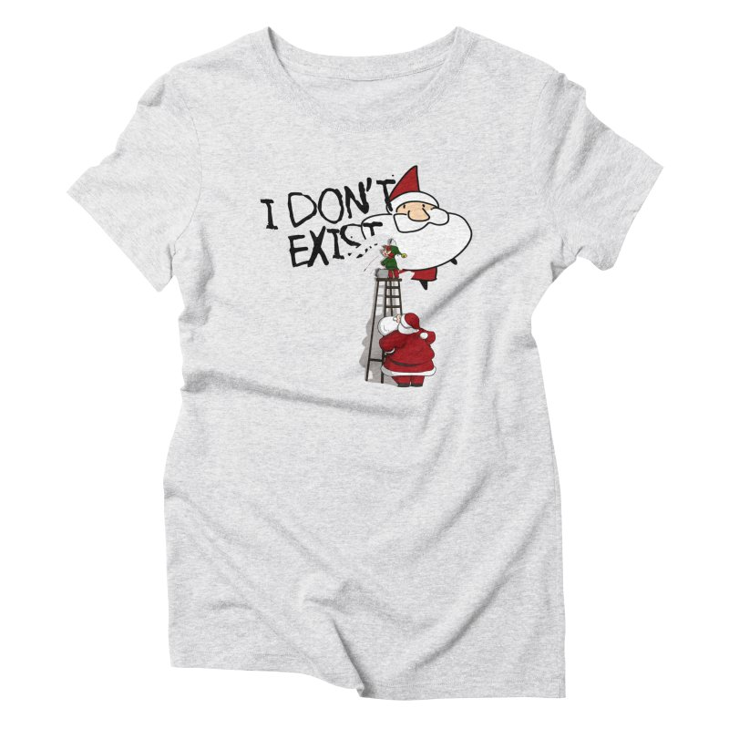 Exist or Not Exist Women's Triblend T-Shirt by roby's Artist Shop