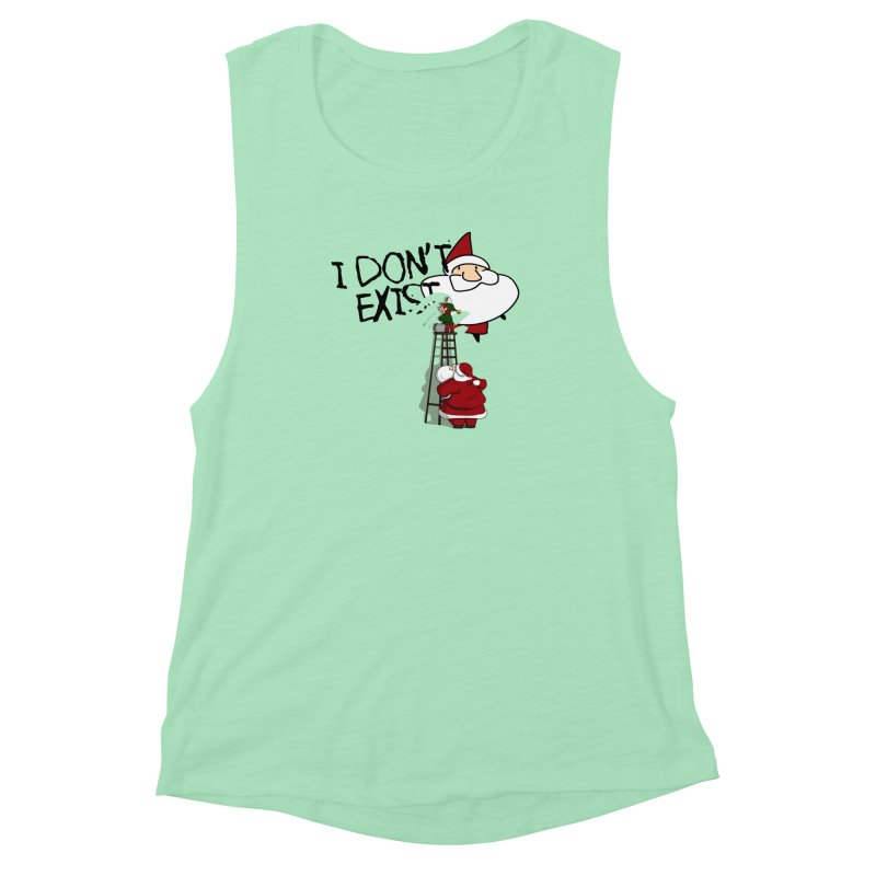 Exist or Not Exist Women's Muscle Tank by roby's Artist Shop