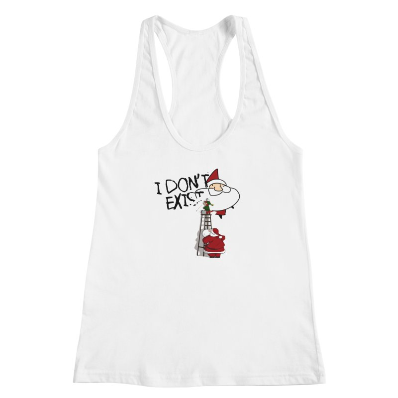 Exist or Not Exist Women's Racerback Tank by roby's Artist Shop