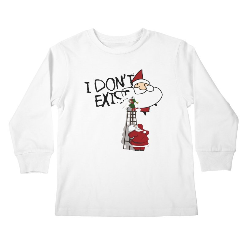 Exist or Not Exist Kids Longsleeve T-Shirt by roby's Artist Shop