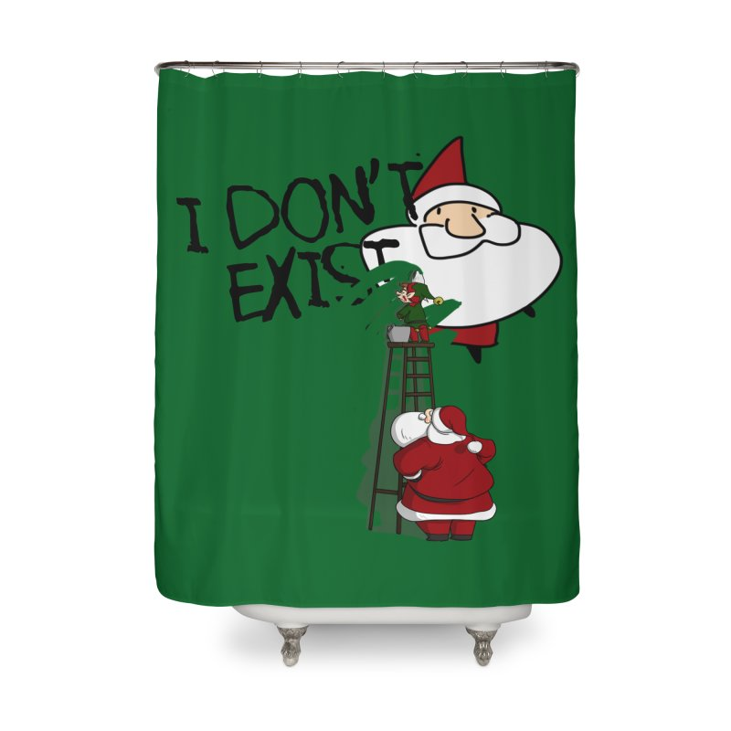 Exist or Not Exist Home Shower Curtain by roby's Artist Shop