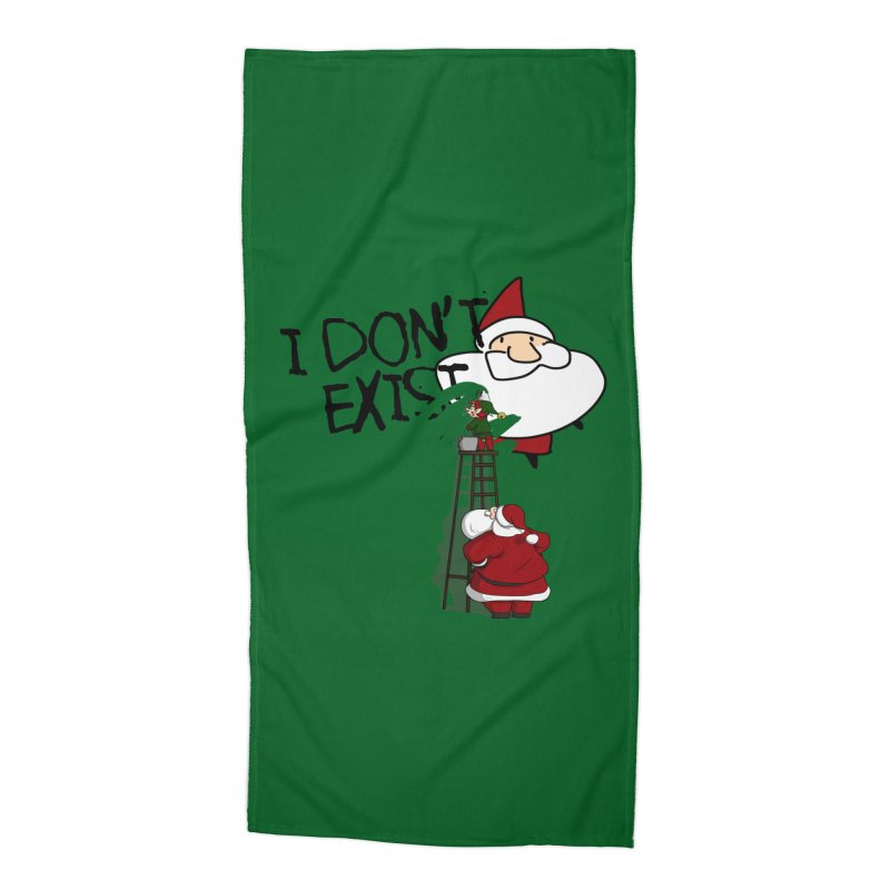 Exist or Not Exist Accessories Beach Towel by roby's Artist Shop