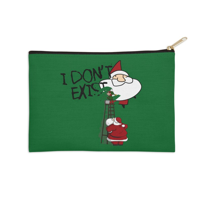 Exist or Not Exist Accessories Zip Pouch by roby's Artist Shop