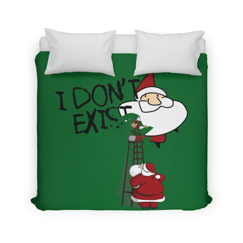 Exist or Not Exist Home Duvet by roby's Artist Shop