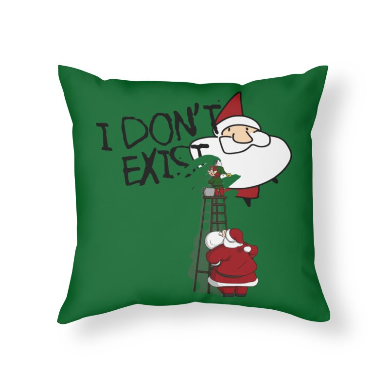 Exist or Not Exist Home Throw Pillow by roby's Artist Shop