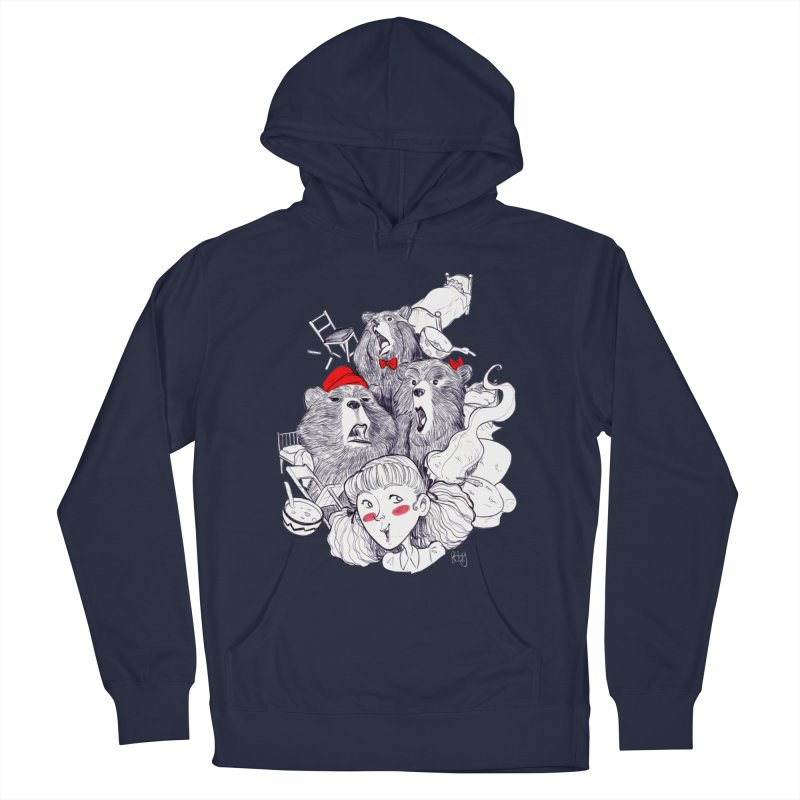 TheThreeBears Men's Pullover Hoody by roby's Artist Shop
