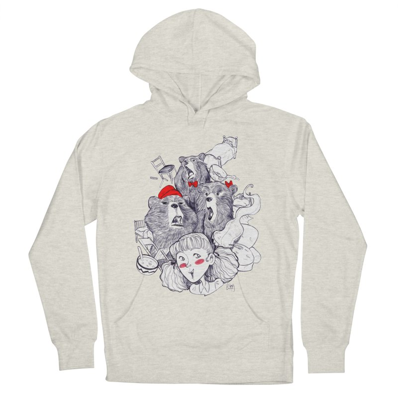 TheThreeBears Women's Pullover Hoody by roby's Artist Shop