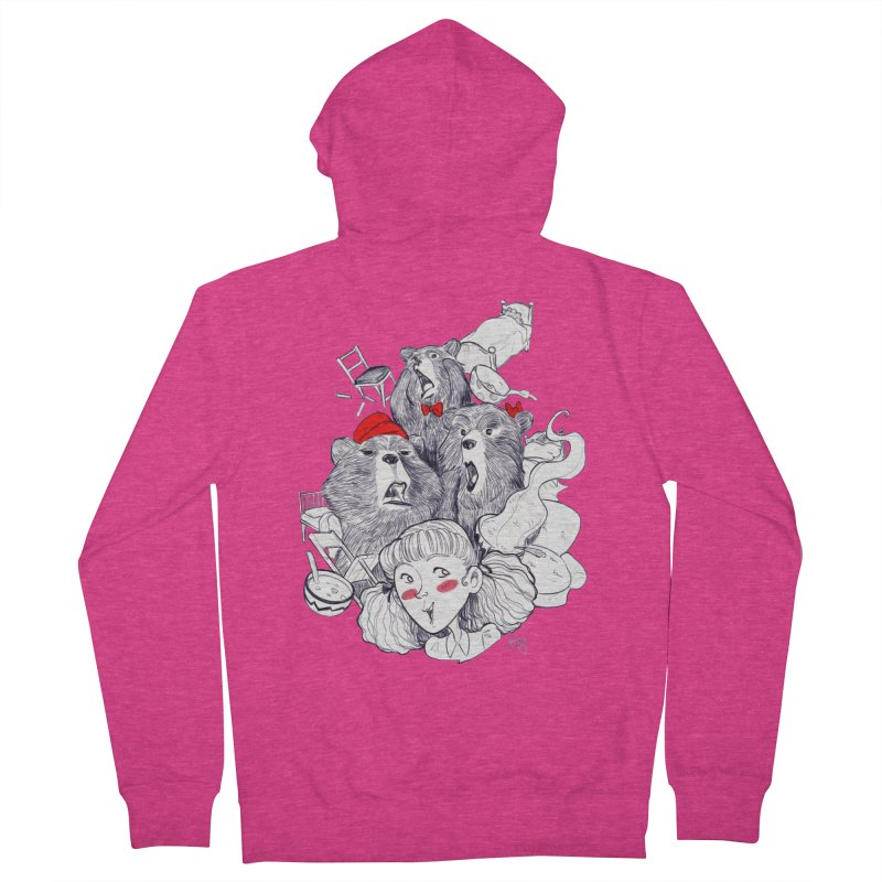 TheThreeBears Women's Zip-Up Hoody by roby's Artist Shop