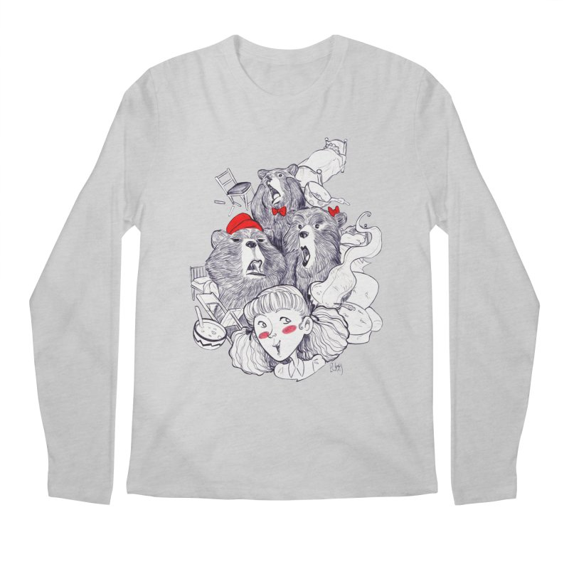 TheThreeBears Men's Longsleeve T-Shirt by roby's Artist Shop