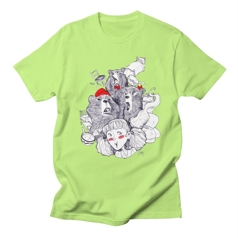 TheThreeBears Men's Regular T-Shirt by roby's Artist Shop