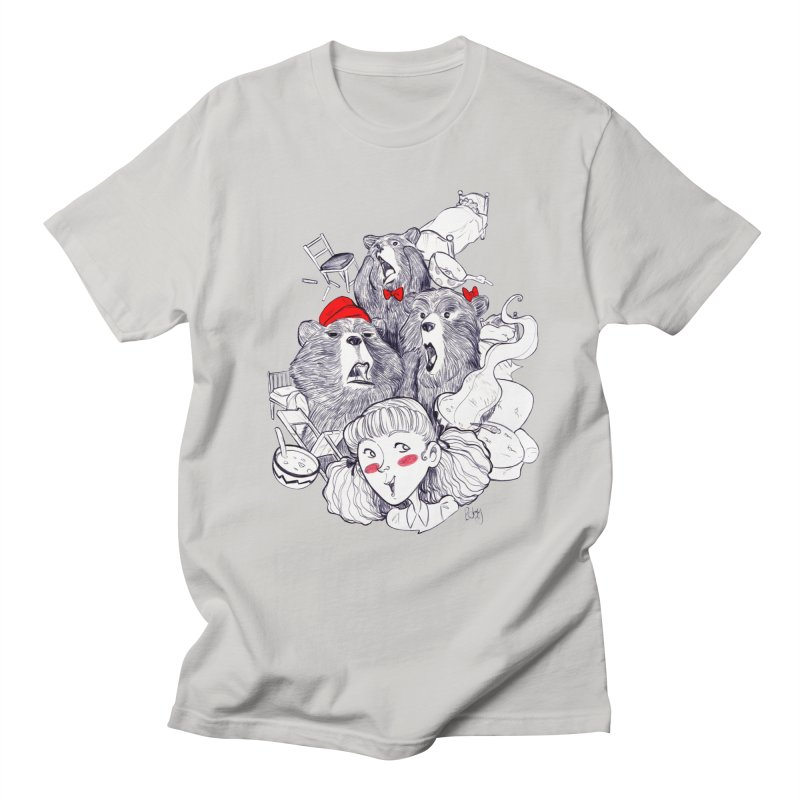 TheThreeBears Women's Unisex T-Shirt by roby's Artist Shop