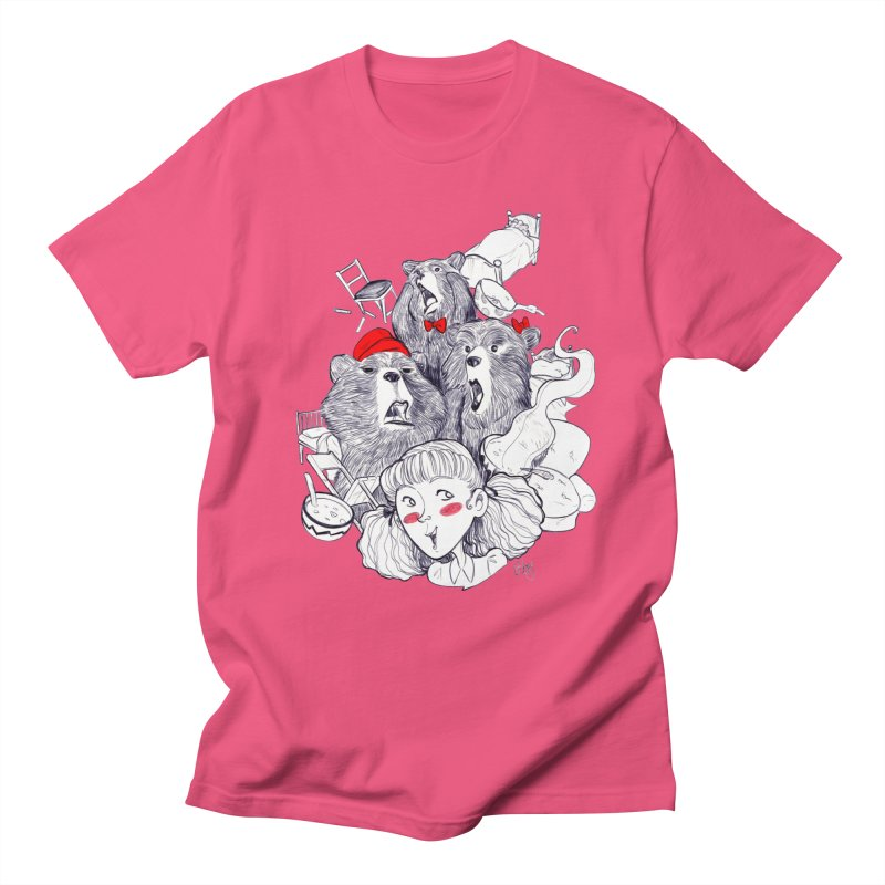 TheThreeBears Women's Regular Unisex T-Shirt by roby's Artist Shop
