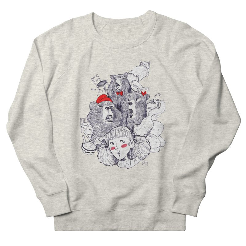 TheThreeBears Women's French Terry Sweatshirt by roby's Artist Shop