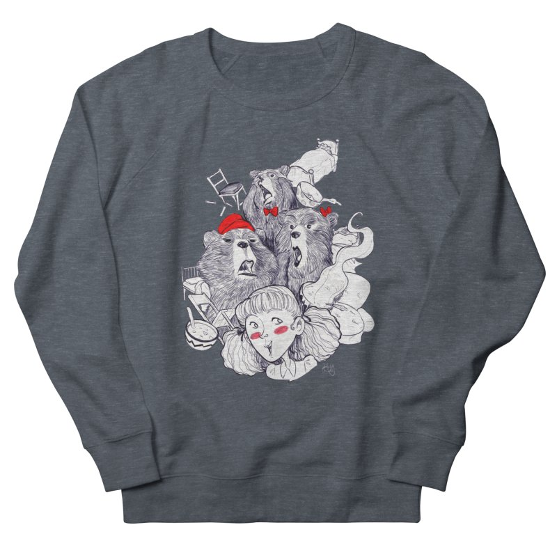 TheThreeBears Men's French Terry Sweatshirt by roby's Artist Shop
