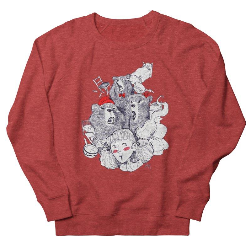 TheThreeBears Men's Sweatshirt by roby's Artist Shop