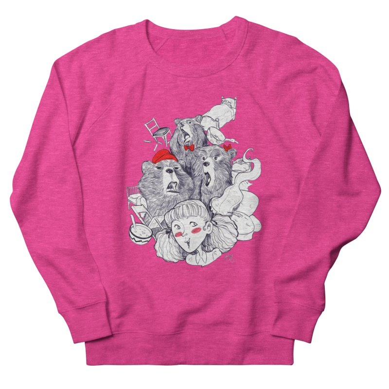 TheThreeBears Men's Sweatshirt by roby's Artist Shop