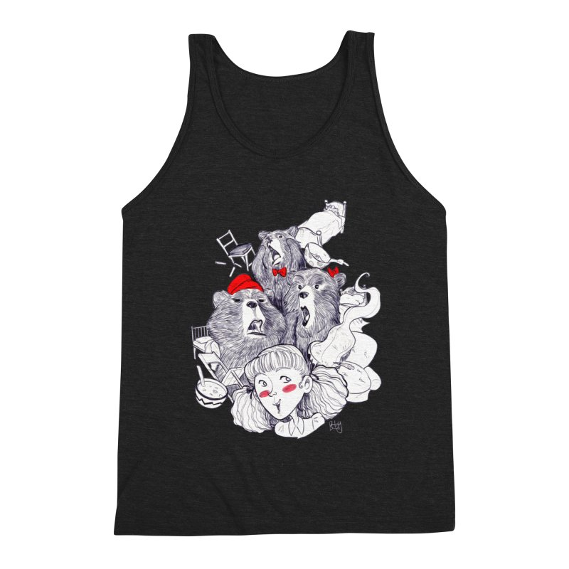 TheThreeBears Men's Tank by roby's Artist Shop