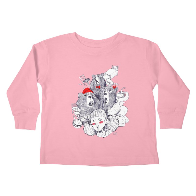 TheThreeBears Kids Toddler Longsleeve T-Shirt by roby's Artist Shop