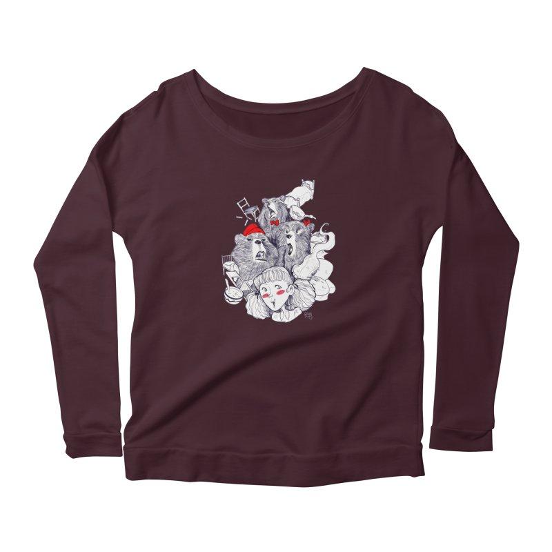 TheThreeBears Women's Longsleeve T-Shirt by roby's Artist Shop