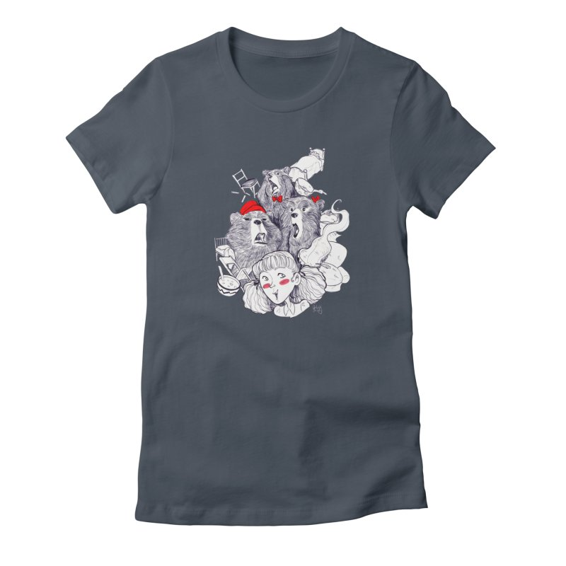 TheThreeBears Women's T-Shirt by roby's Artist Shop