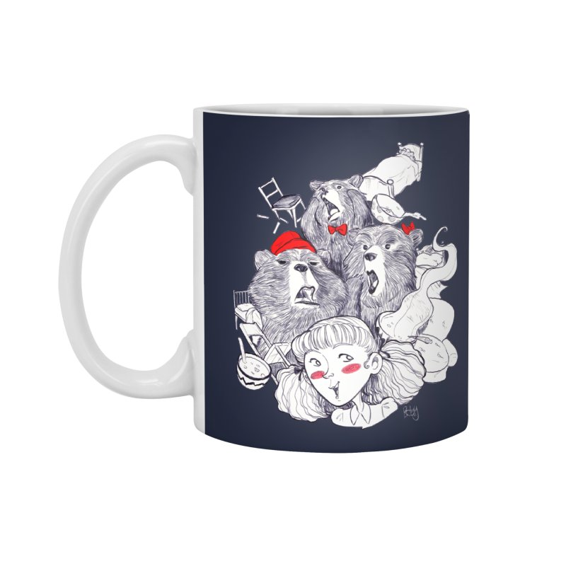 TheThreeBears Accessories Mug by roby's Artist Shop