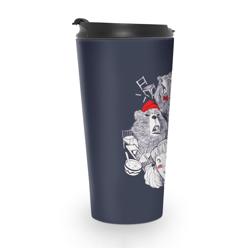 TheThreeBears Accessories Travel Mug by roby's Artist Shop