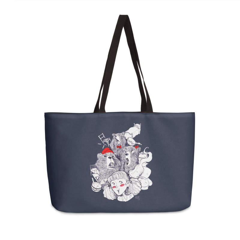 TheThreeBears Accessories Weekender Bag Bag by roby's Artist Shop