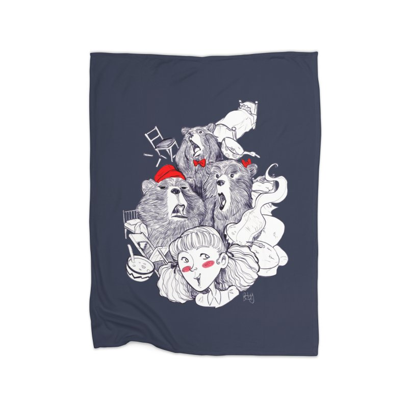 TheThreeBears Home Blanket by roby's Artist Shop