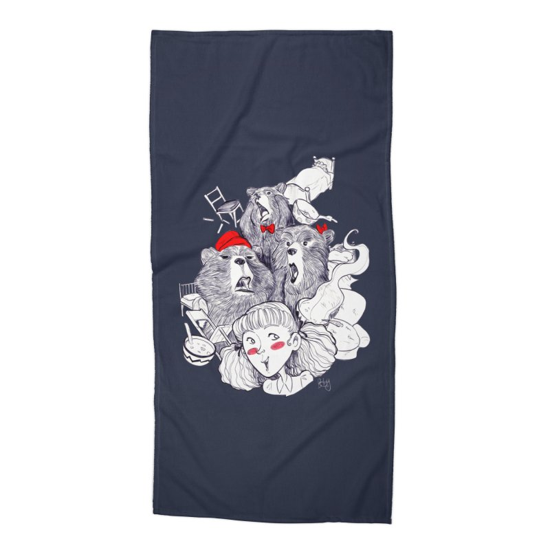 TheThreeBears Accessories Beach Towel by roby's Artist Shop