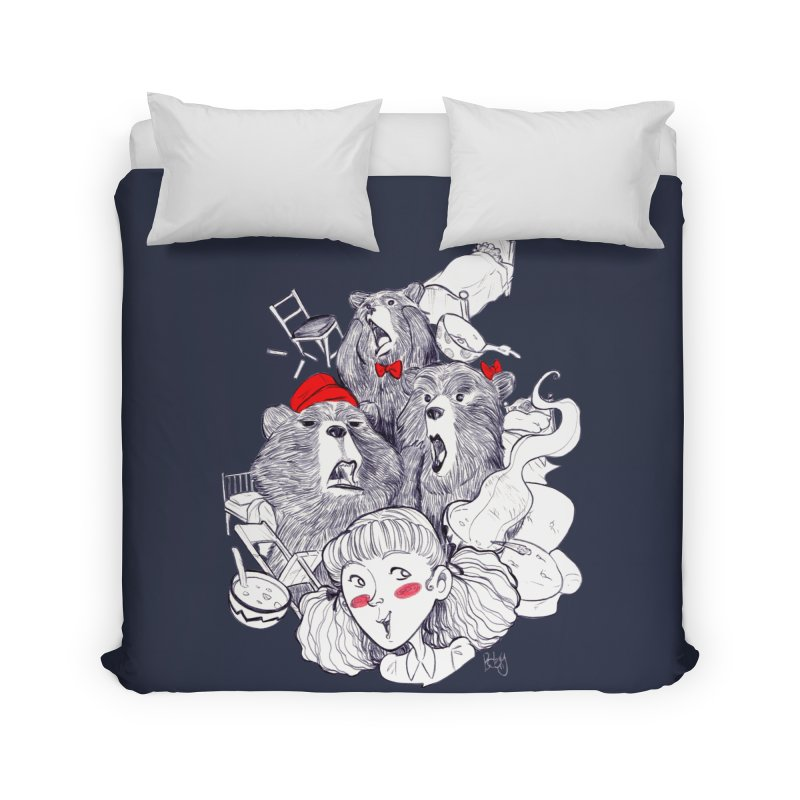 TheThreeBears Home Duvet by roby's Artist Shop