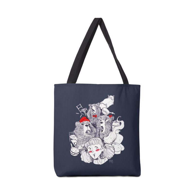 TheThreeBears Accessories Bag by roby's Artist Shop