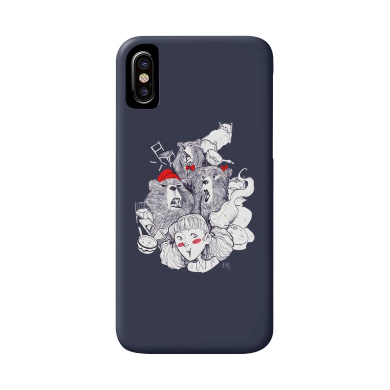 TheThreeBears Accessories Phone Case by roby's Artist Shop
