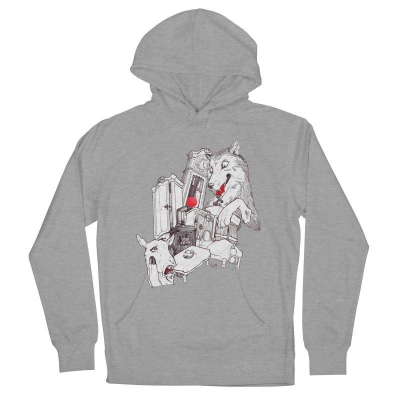 Wolf&7LittleGoats Women's Pullover Hoody by roby's Artist Shop