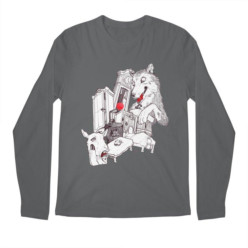 Wolf&7LittleGoats Men's Regular Longsleeve T-Shirt by roby's Artist Shop