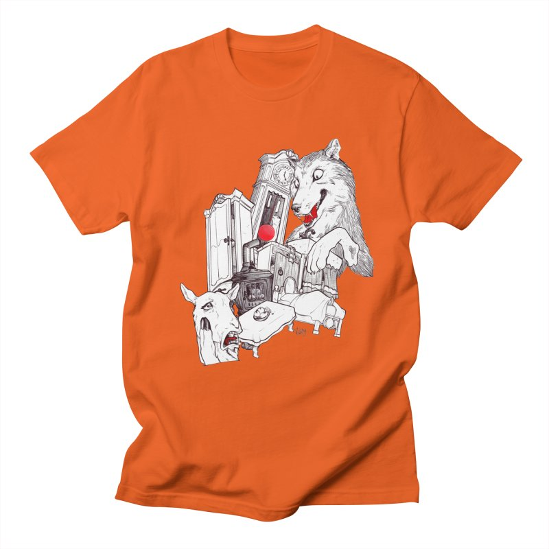 Wolf&7LittleGoats Women's Unisex T-Shirt by roby's Artist Shop
