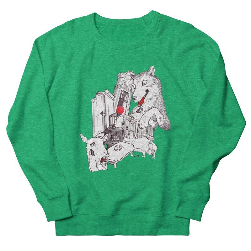 Wolf&7LittleGoats Women's Sweatshirt by roby's Artist Shop