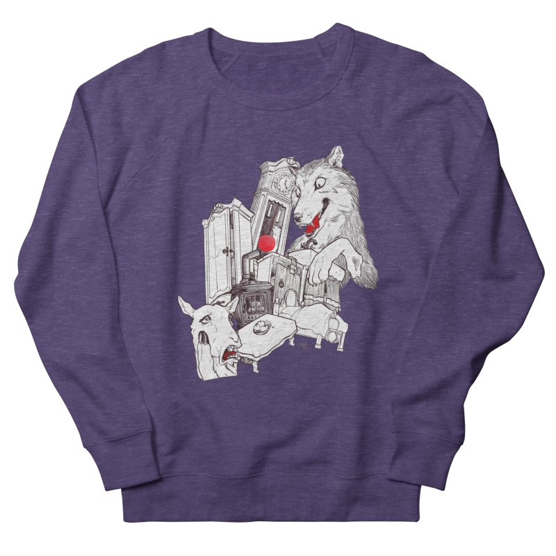 Wolf&7LittleGoats Women's Sweatshirt by roby's Artist Shop