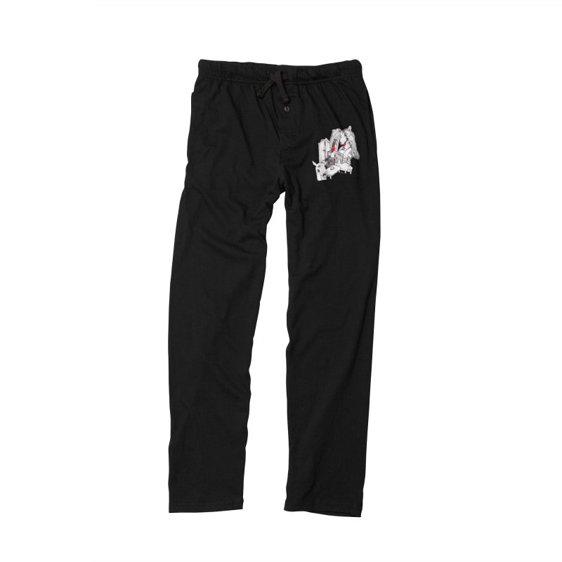 Wolf&7LittleGoats Men's Lounge Pants by roby's Artist Shop