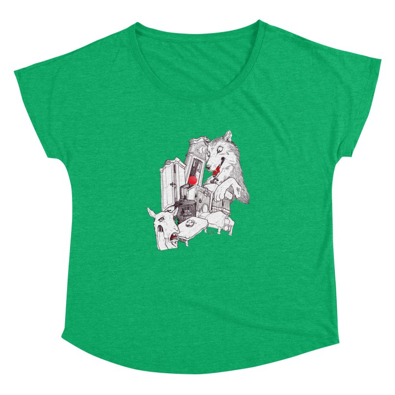 Wolf&7LittleGoats Women's Dolman by roby's Artist Shop