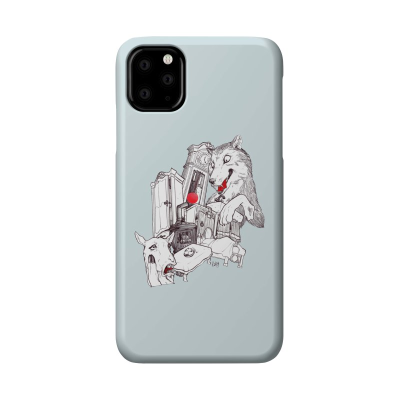 Wolf&7LittleGoats Accessories Phone Case by roby's Artist Shop